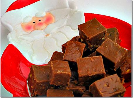 Santa and Fudge