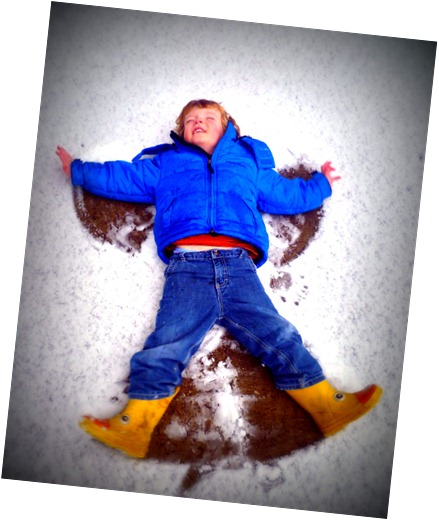 Carter snow angel