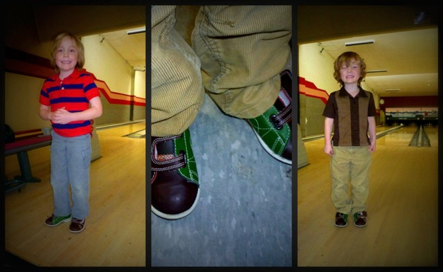 Bowling Boys collage