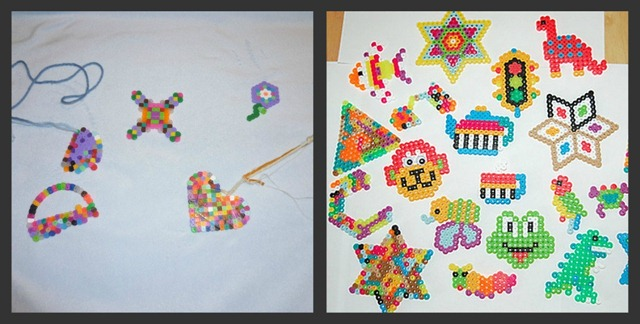 Perler Design Collage