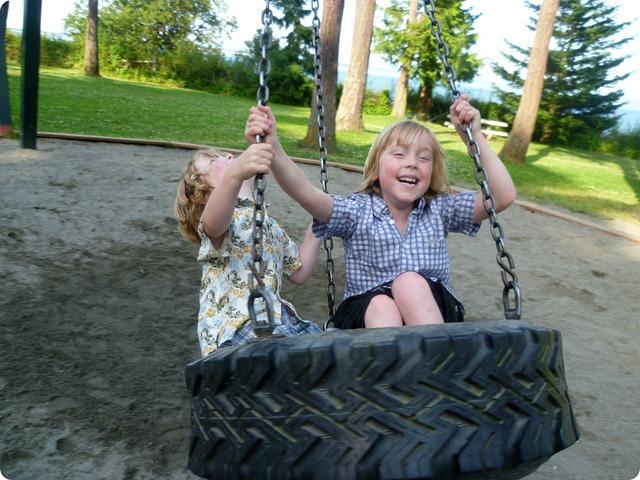 Tire swing 4