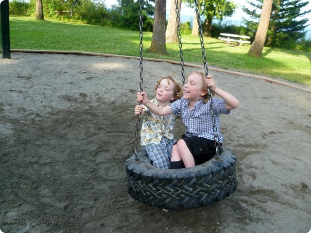 Tire swing 5