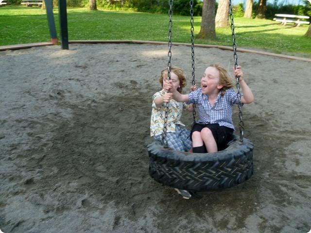 Tire swing 6