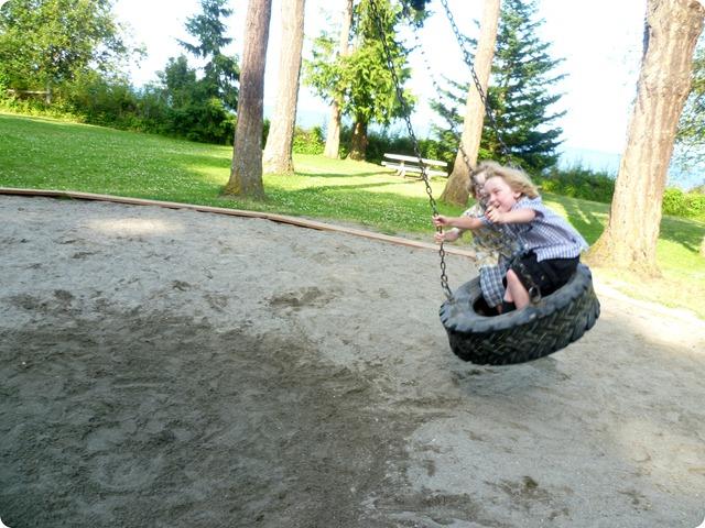 Tire swing 7