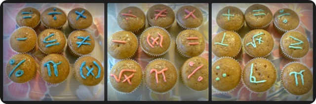 Mini Math Muffins Collage