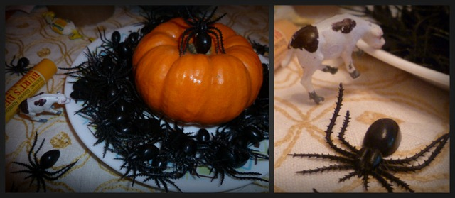 Spiders and a Cow Collage