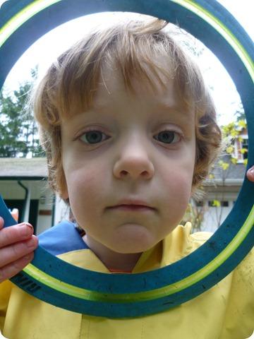 Frisbee face