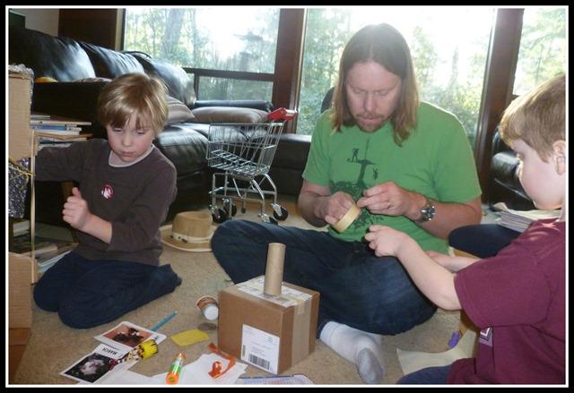 Robot building 1