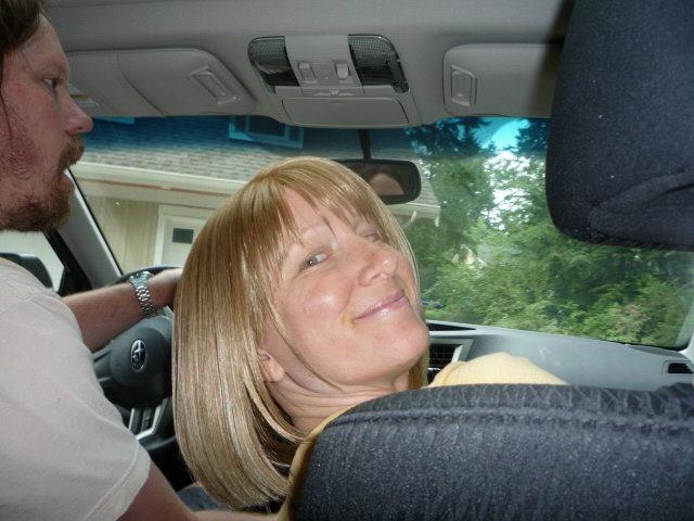 Backseat photographer