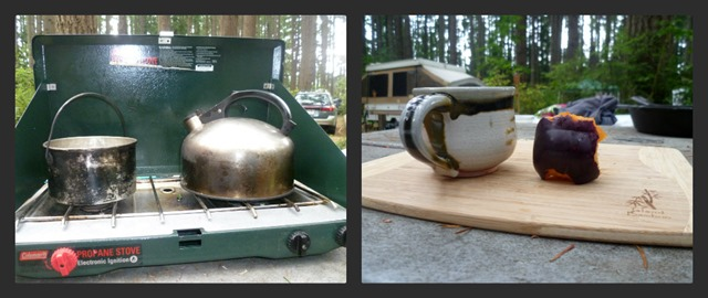 Camping or Glamping Collage 1