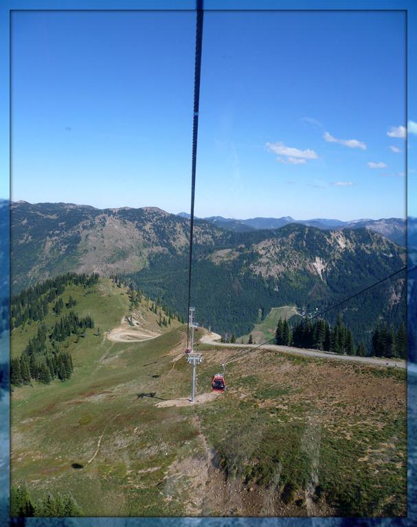 Gondola at Crystal Mountain