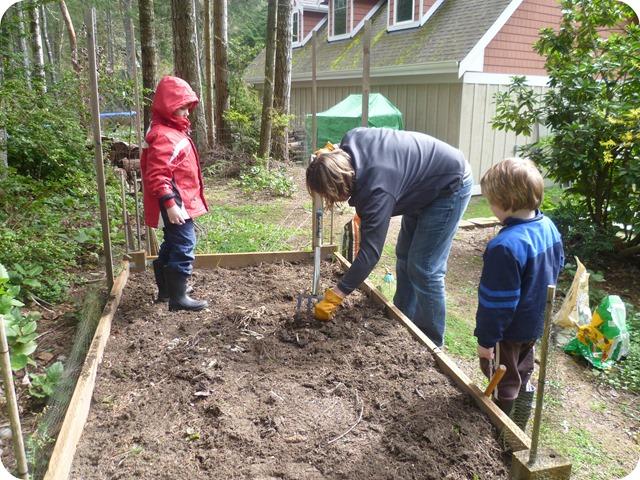 Turning the soil 1