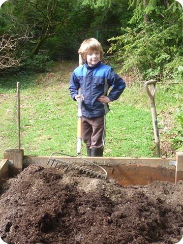 Turning the soil 2