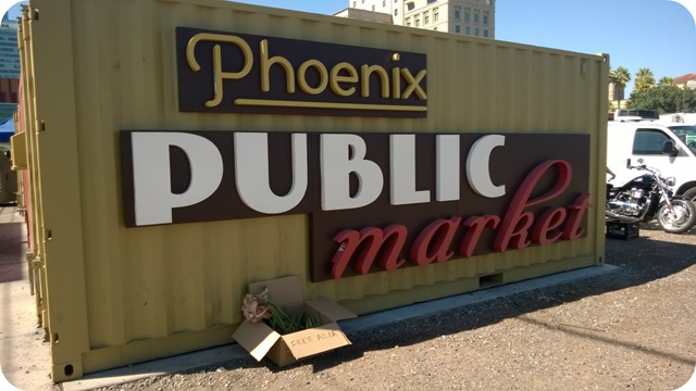home Phoenix Market Sign