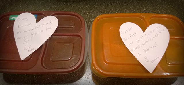 lunchbox messages