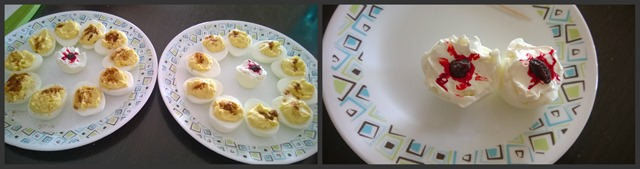 Deviled Eggs Collage