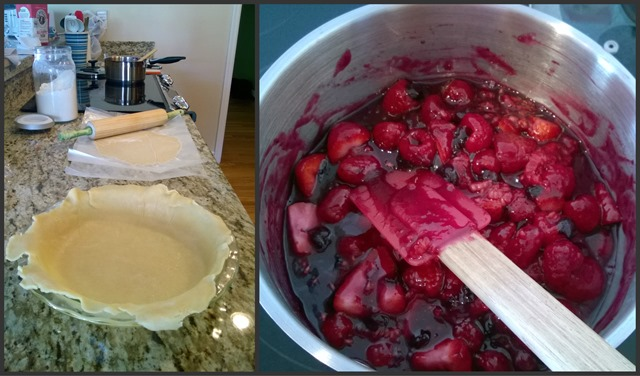 TriBerry Pie Collage