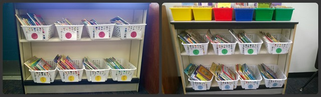 Classroom Library Collage