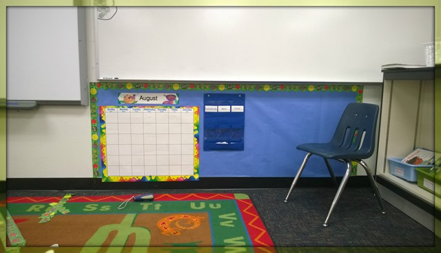 First Hint of a Classroom