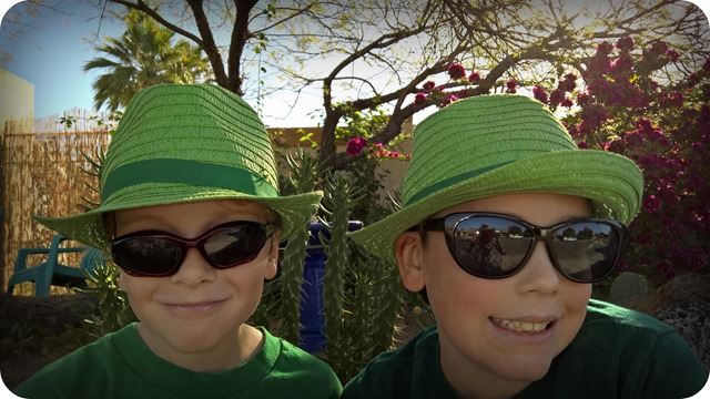 Green Hats of course
