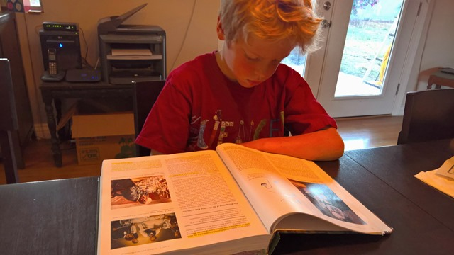 Carter reading Microbiology