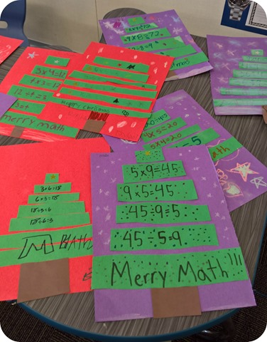 Merry Math Trees