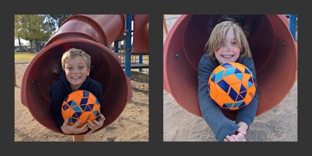 Soccer Slide Collage